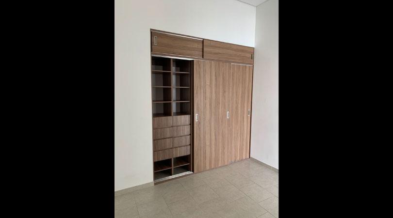 departamento en renta con vista espectacular en insurgentes Mixcoac closet